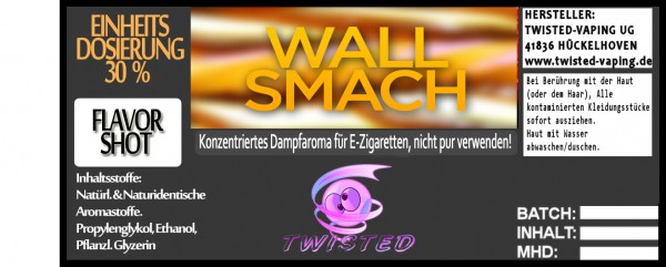Twisted Aroma Wall Smash FlavorShot 5ml  Eventuell nahes oder überschrittenes Haltbarkeitsdatum