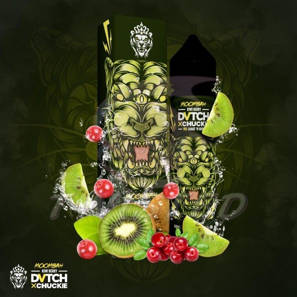 DVTCH CHUCKIE MOOMBAH (Kiwi, Rote Früchte) - E-Liquid made in Amsterdam 50ml
