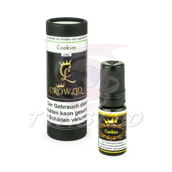 Crow Liq Cookies Liquid 10ml