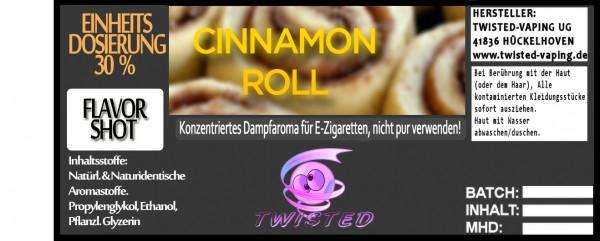 Twisted Aroma Cinnamon Roll FlavorShot 30ml