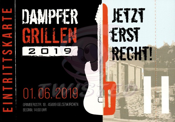 Dampfergrillen 2019 Ticket