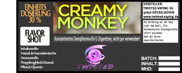 Twisted Aroma Creamy Monkey FlavorShot