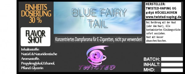 Twisted Aroma Blue Fairy Tail FlavorShot