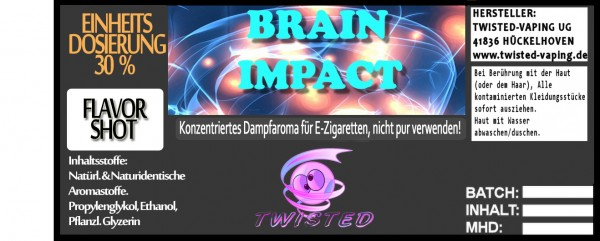 Twisted Aroma Brain Impact FlavorShot