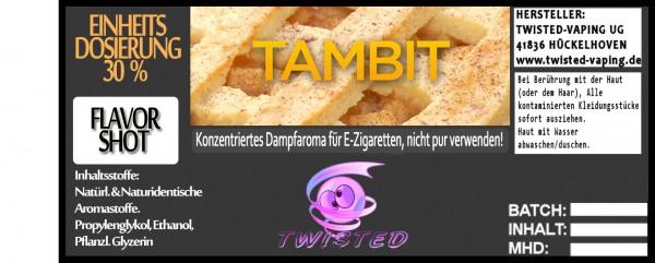 Twisted Aroma Tambit FlavorShot 5ml  Eventuell nahes oder überschrittenes Haltbarkeitsdatum