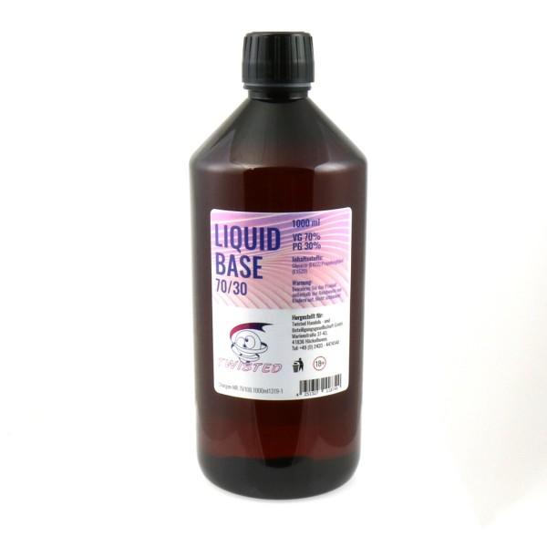 Twisted Vaping Liquid Basen 1000ml 0mg/ml VPG (70/30)
