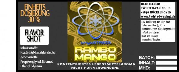 Cryostasis Aroma Rambo Mango FlavorShot