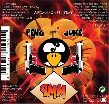 Peng Juice 9mm Longfill Aroma 20ml 0mg