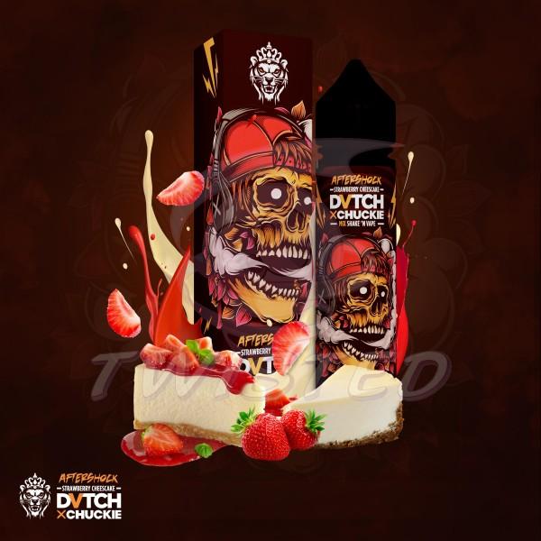 DVTCH CHUCKIE AFTERSHOCK (Erdbeer-Käsekuchen) - E-Liquid made in Amsterdam 50ml