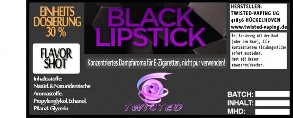 Twisted Aroma Black Lipstick FlavorShot