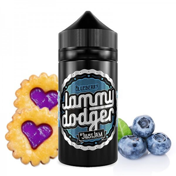 Jammy Dodger Blueberry Shortfill