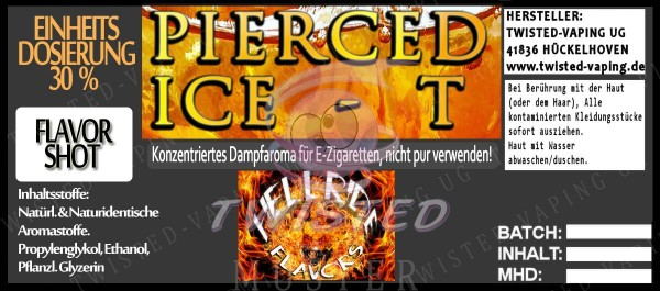 Hellride Aroma Pierced Ice-T FlavorShot