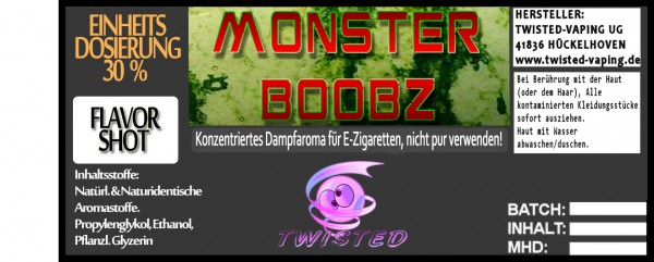 Twisted Aroma Monster Boobz FlavorShot