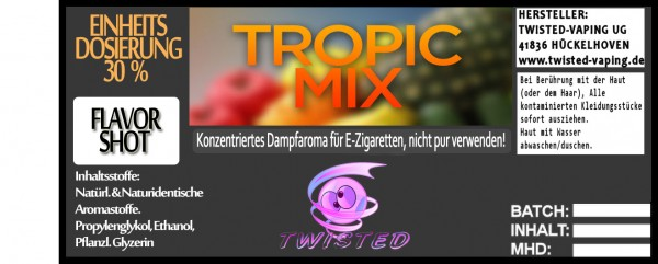 Twisted Aroma Tropic Mix FlavorShot
