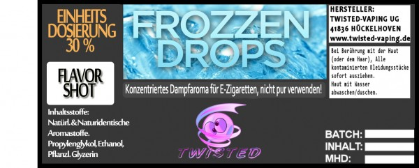 Twisted Aroma Frozzen Drops FlavorShot