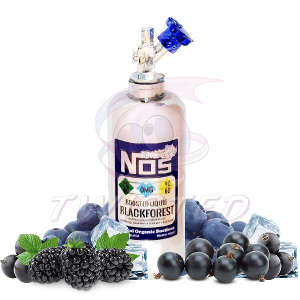 NOS Blackforest Premium Liquid 60ml 0mg