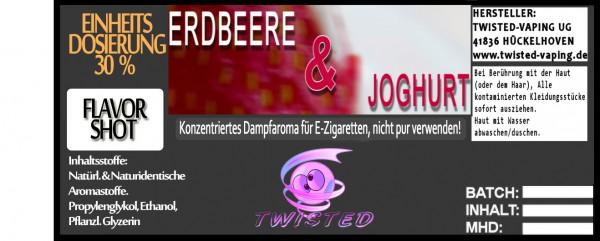 Twisted Aroma Erdbeer Joghurt FlavorShot