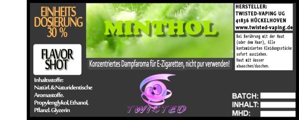 Twisted Aroma Minthol 10ml
