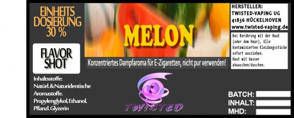 Twisted Aroma Melon FlavorShot 10ml
