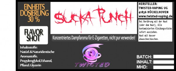 Twisted Aroma Sucka Punch FlavorShot 10ml  Eventuell nahes oder überschrittenes Haltbarkeitsdatum