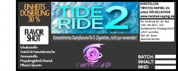 Twisted Aroma Tide Ride 2 FlavorShot