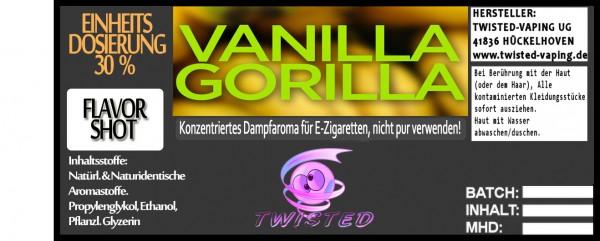 Twisted Aroma Vanilla Gorilla FlavorShot
