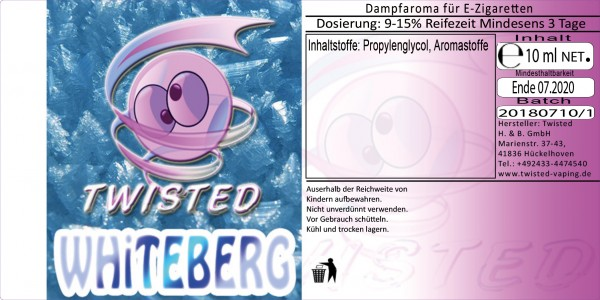 Twisted Aroma Whiteberg 10ml
