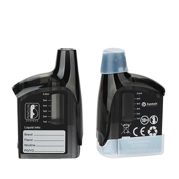 Joyetech Atopack Penguin 8.8ml Cartridge Tank schwarz mit Verdampferkopf