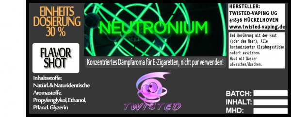 Twisted Aroma Neutronium FlavorShot
