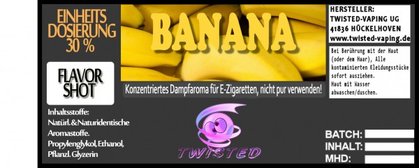 Twisted Aroma Banana FlavorShot 5ml