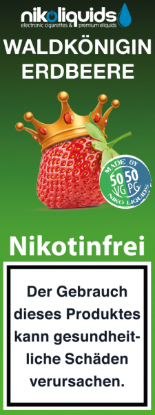 Waldkönigin Erdbeere