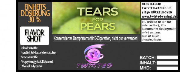 Twisted Aroma Tears for Pears FlavorShot