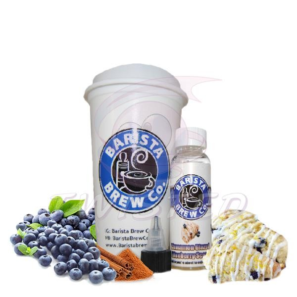 Barista Brew Cinnamon Glazed Blueberry Scone Liquid 50ml 0mg
