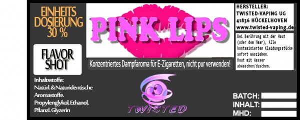 Twisted Aroma Pink Lips FlavorShot