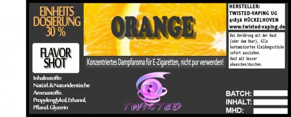 Twisted Aroma Orange FlavorShot 5ml  Eventuell nahes oder überschrittenes Haltbarkeitsdatum