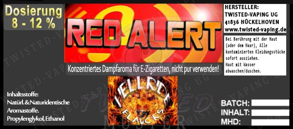 Hellride Red Alert 10ml