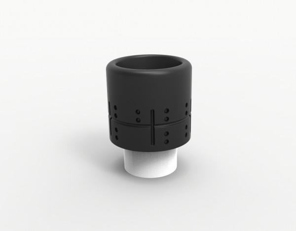 Jigsaw Mini Drip Tip POM Cross