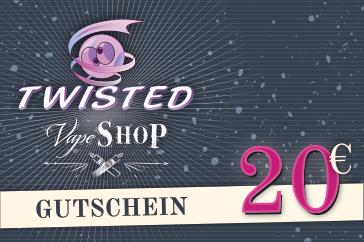 Gutschein Online-Shop 20 Euro