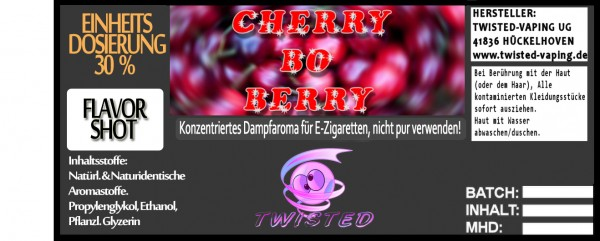 Twisted Aroma Cherry bo Berry FlavorShot