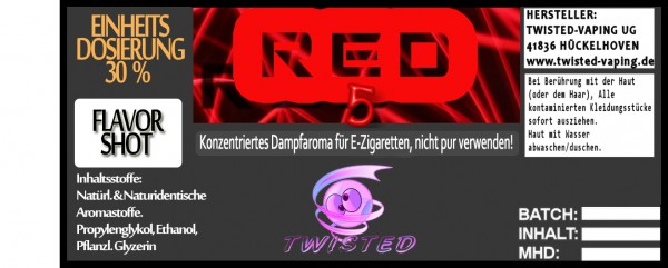 Twisted Aroma Red 5 FlavorShot 5ml