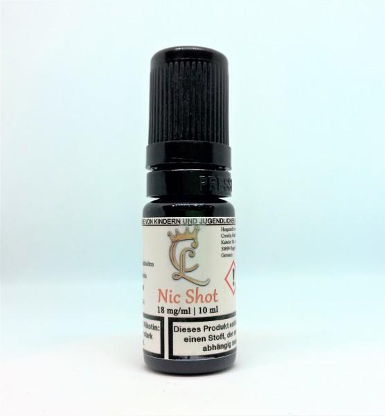 Crowliq Nikotin Shot 50/50 18mg/ml