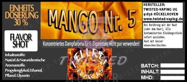 Hellride Aroma Mango No.5 FlavorShot