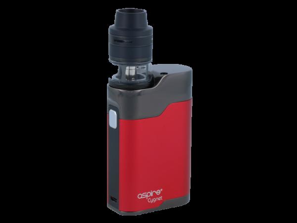 Aspire Cygnet mit Revvo Mini E-Zigaretten Set Rot - Schwarz