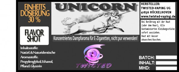 Twisted Aroma Unicorn FlavorShot