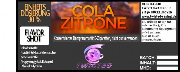 Twisted Aroma Cola-Zitrone FlavorShot