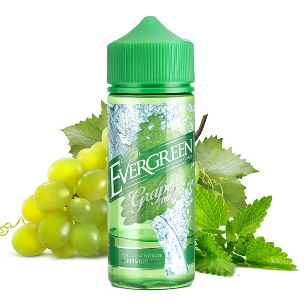 "Evergreen ""Grape Mint"" Longfill 30ml"