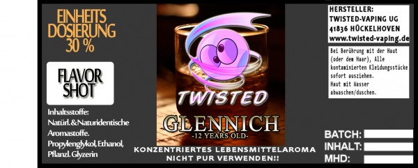 Twisted Aroma Glennich 10ml