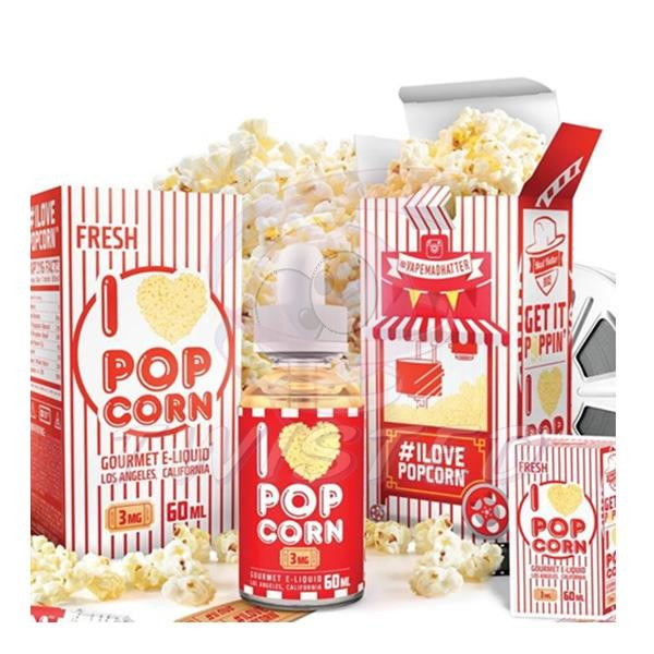 I Love Popcorn US Premium Liquid 50ml 0mg