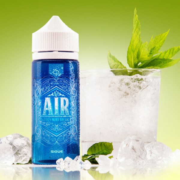 Sique Berlin Air E-Liquid 100ml 0mg