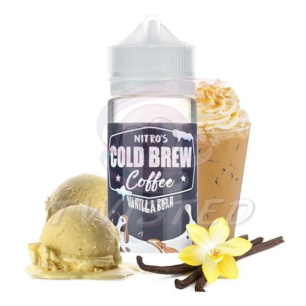 NITRO´S Cold Brew Coffee Vanilla Bean US Premium Liquid 100ml 0mg